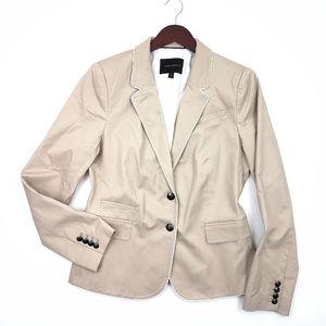 NWOT Banana Republic Piped ACA Blazer SZ 12 Jacket
